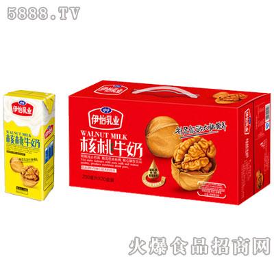 伊怡乳业核桃牛奶植物蛋白饮品