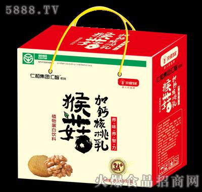 仁和集团汇智系列猴菇加钙核桃乳250mlx12盒
