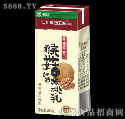 仁和集团汇智系列猴菇加钙核桃乳250ml