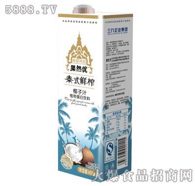 果然优泰式椰子汁600ml