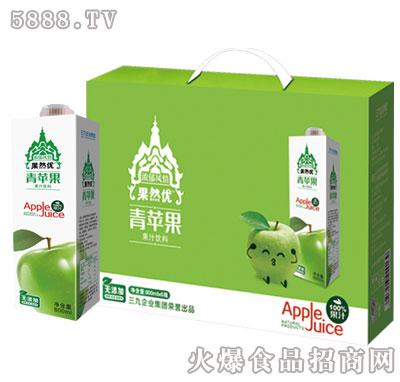 果然优青苹果果汁饮料礼盒装
