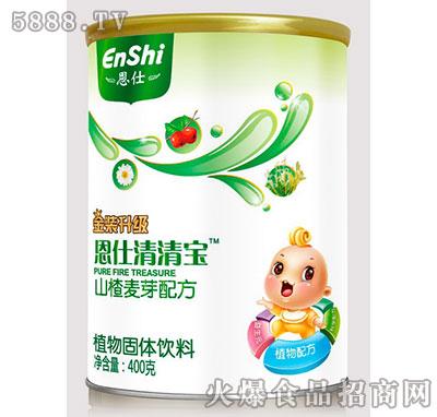 恩仕清清宝山楂麦芽配方400g产品图
