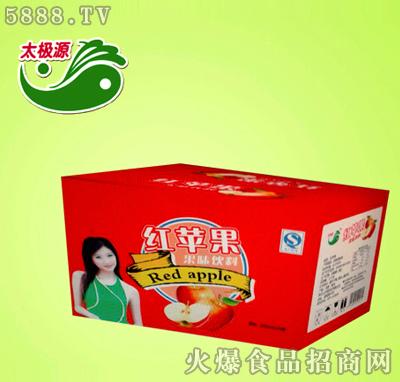 红苹果果味饮料箱
