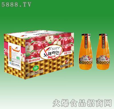 嗨起来苹果汁饮料828ml×16瓶