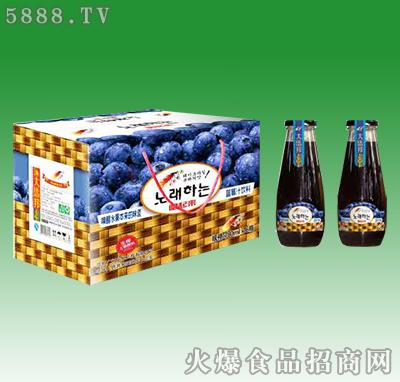 嗨起来蓝莓汁饮料828ml×16瓶