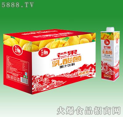 大马邦芒果乳酸菌果汁饮料1Lx12盒