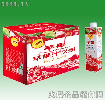 大马邦苹果汁饮料1L×8盒
