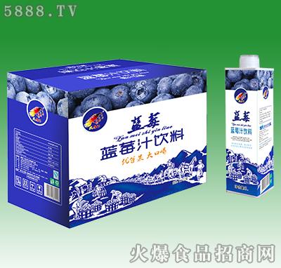 大马邦蓝莓汁饮料1L×12盒