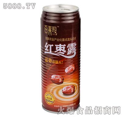 百素珍红枣露500ml