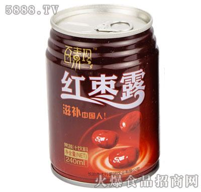 百素珍红枣露240ml