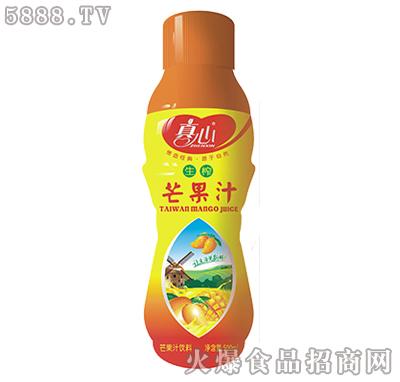 真心生榨芒果汁500ml
