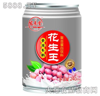 宏易堂花生王复合蛋白饮料240ml