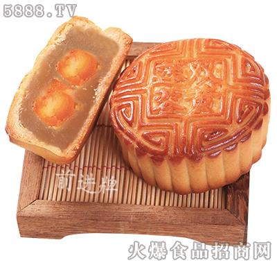 低糖莲蓉双黄月饼
