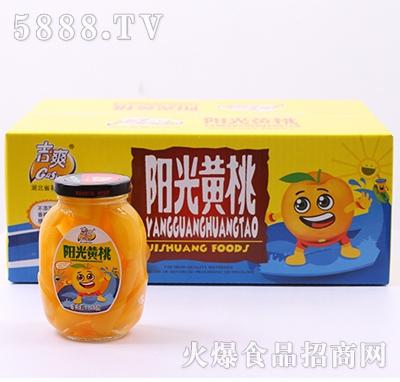 吉爽阳光黄桃罐头260gX10