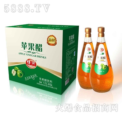 恬润苹果醋饮料1.5LX6瓶
