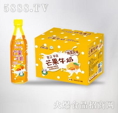 芒果牛奶500mlx15瓶