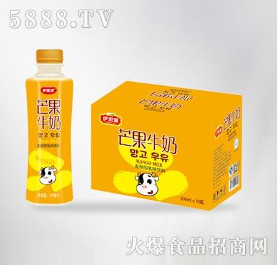 伊思源芒果牛奶500mlx15瓶