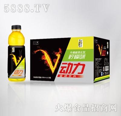V动力柠檬味600mlx15瓶