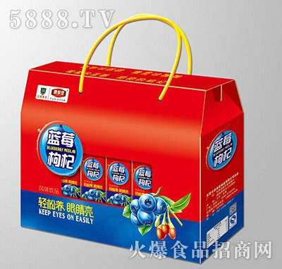 (1x10盒)养参堂屋顶开窗蓝莓枸杞风味饮品