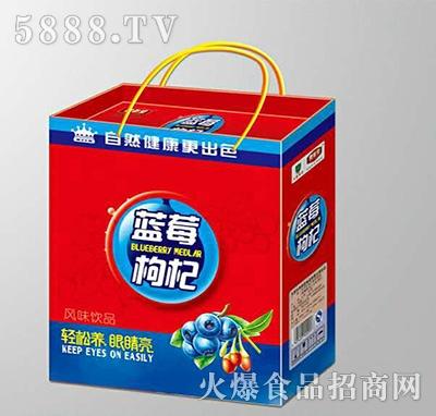 (1x12盒)养参堂蓝莓枸杞凹顶礼盒