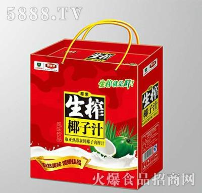(1x12盒)养参堂生榨椰子汁凹顶礼盒