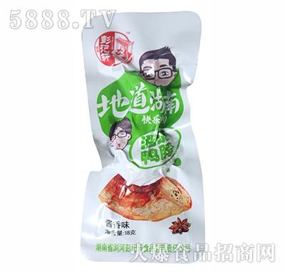 彭记轩湘派鸭脖酱香味18g