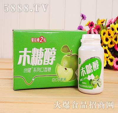 48g创健维C苹果味口香糖