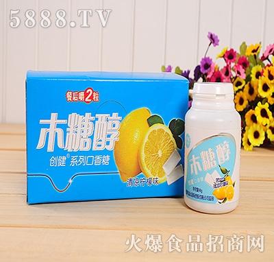 48g创健木糖醇柠檬味口香糖
