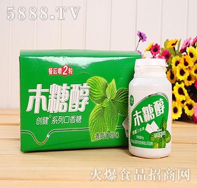 48g创健木糖醇薄荷味口香糖