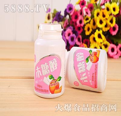 48g创健木糖醇蜜桃味口香糖