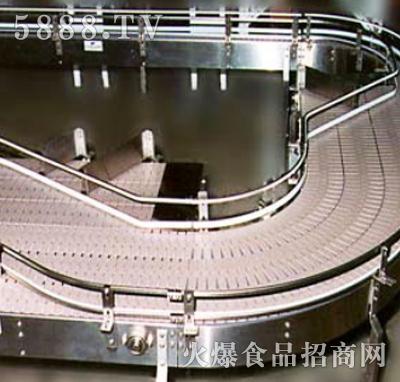 转弯皮带输送机产品图