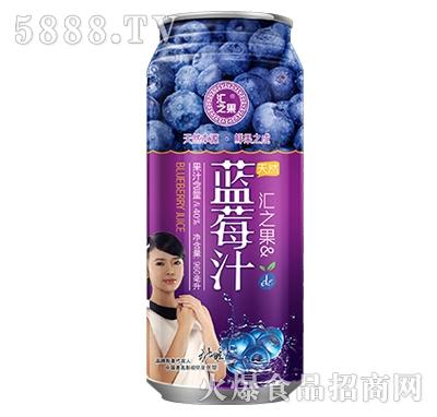汇之果蓝莓汁960ml产品图