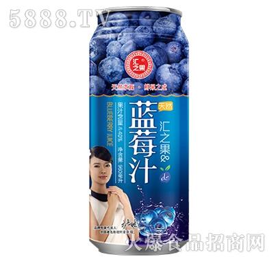 960ml汇之果蓝莓汁产品图