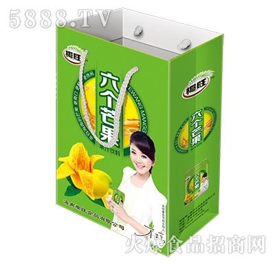椰旺六个芒果果汁饮料手提袋