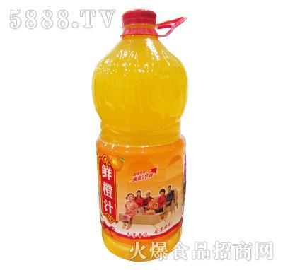 优露鲜橙汁2.58L