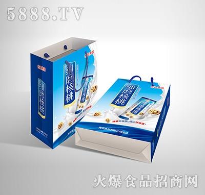 传奇果园细磨核桃植物蛋白饮料-果仁露精品型240mlX20罐手提袋产品图