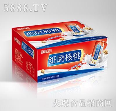 传奇果园细磨核桃植物蛋白饮料-果仁露喜庆精品型240mlX20罐
