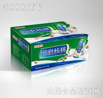 传奇果园细磨核桃植物蛋白饮料-果仁露无糖型240mlX20罐产品图