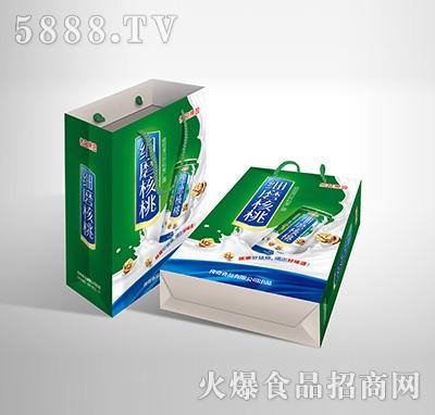 传奇果园细磨核桃植物蛋白饮料-果仁露无糖型240mlX20罐手提袋