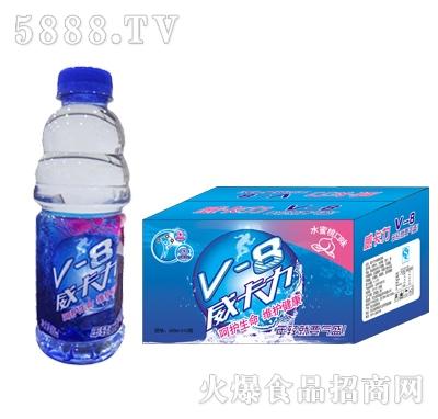 威卡力V-8水蜜桃味箱600ml×15瓶