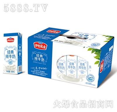 伊怡牧业经典纯牛奶1L×12盒