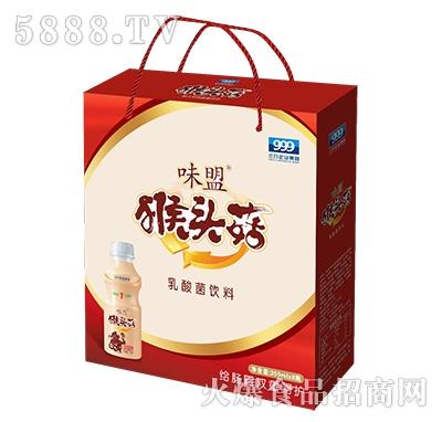味盟猴头菇乳酸菌饮料手提袋