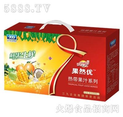 果然优热带果汁系列礼盒