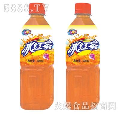百事利冰红茶柠檬口味500ml