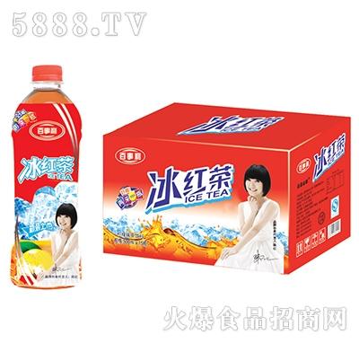 百事利冰红茶柠檬味茶饮料500ml×15瓶