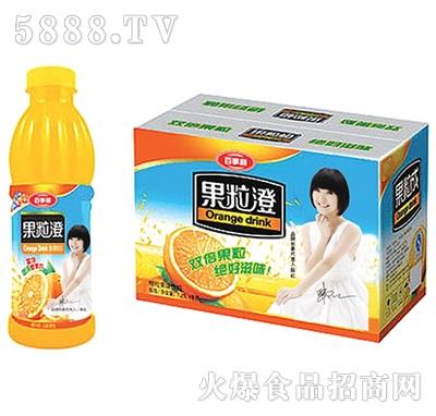 600mlx15瓶百事利果粒橙