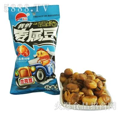 振益兰花豆蒜香味60g 80g