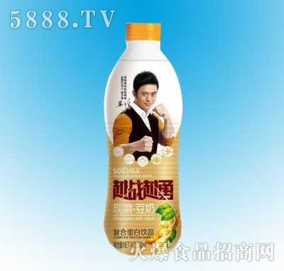 越战越勇现磨豆奶500ml