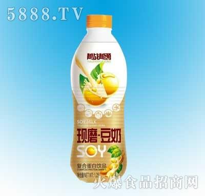 越战越勇现磨豆奶1.25L