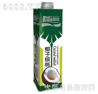1000mlx8瓶能量娃椰子核桃